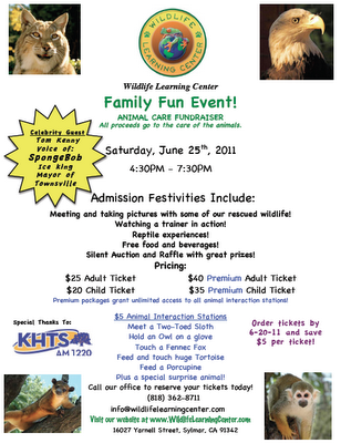 Wildlife Learning Center Event!