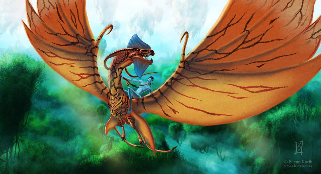 аватар дракон: